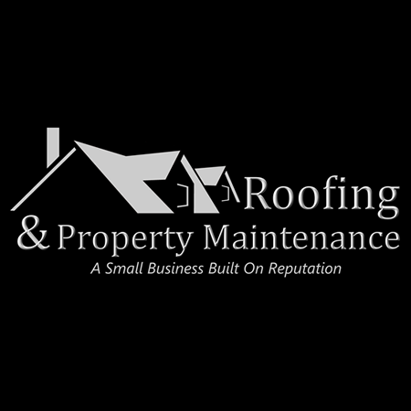 Roof/ Property Maintenance Logo