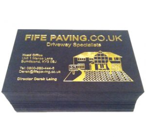 Fife Paving Business Cards-thumb