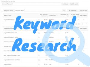 Different types of keywords