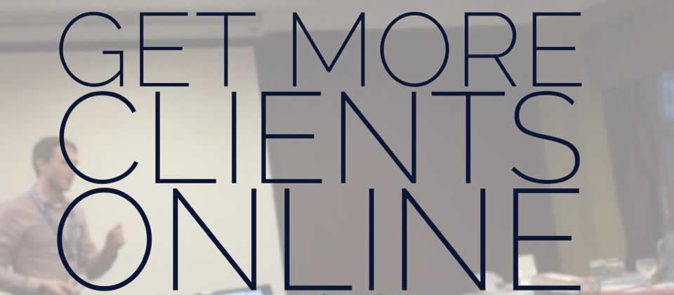 Get more clients online with SEO