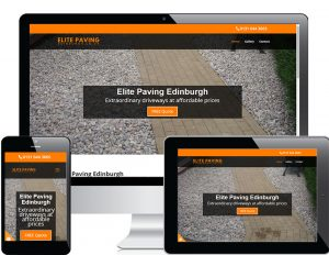 elite paving responsive view
