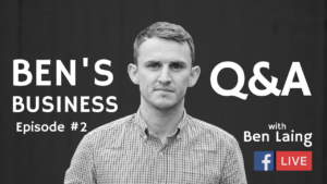 Ben's business podcast SEO Q&A with Ben Laing