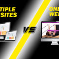 Multiple Websites VS One Website