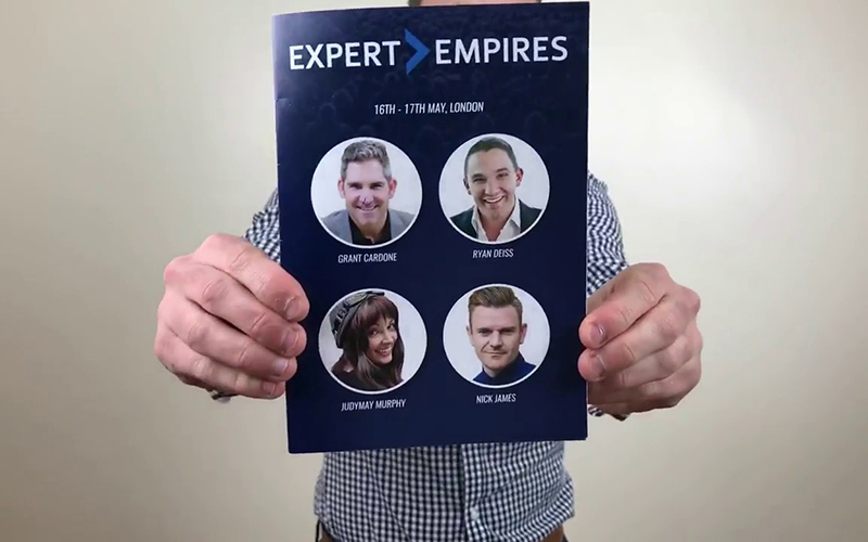 Money & Mindset lessons from Grant Cardone @ Expert Empires 2018 – BEN'S BUSINESS PODCAST #24