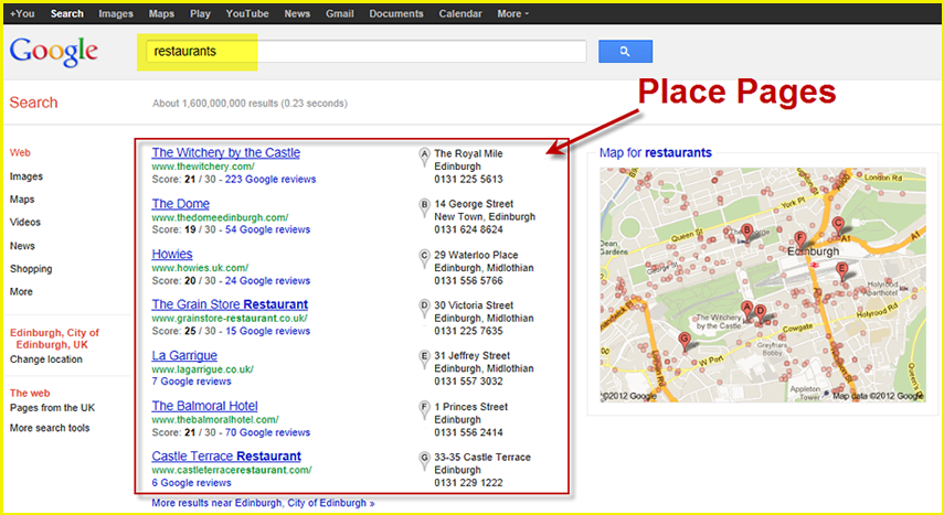 Google is crushing the Yellow Pages