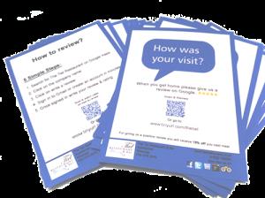 Tiel Restaurant Review cards