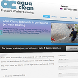Aqua Clean website