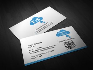 Thinking to Success Business Cards