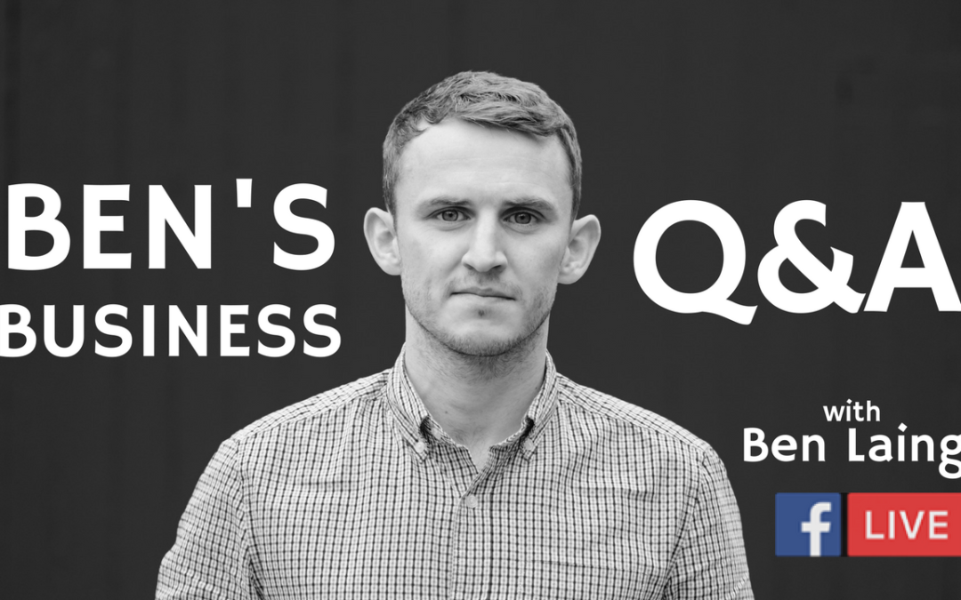 BEN'S BUSINESS PODCAST | Get more clients, Niche & Content Marketing