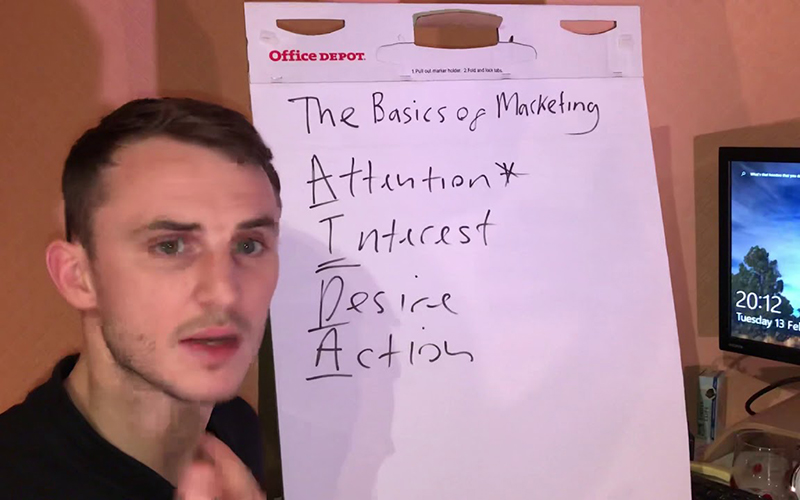 The Basics Of Marketing & AIDA – BEN'S BUSINESS PODCAST #22